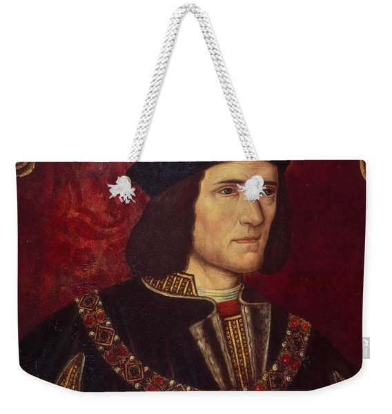Portrait Of King Richard IIi Weekender Tote Bag