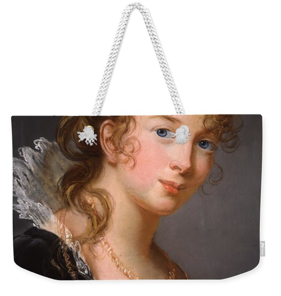 Portrait Of Louisa Princess Radziwill  Weekender Tote Bag