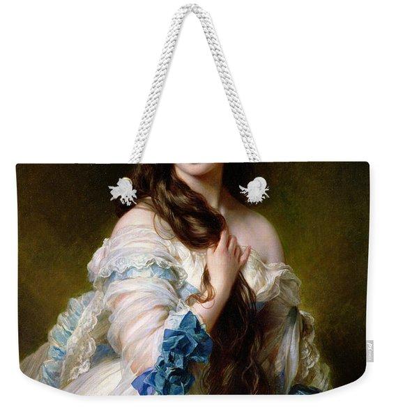 Portrait Of Madame Rimsky Korsakov Weekender Tote Bag