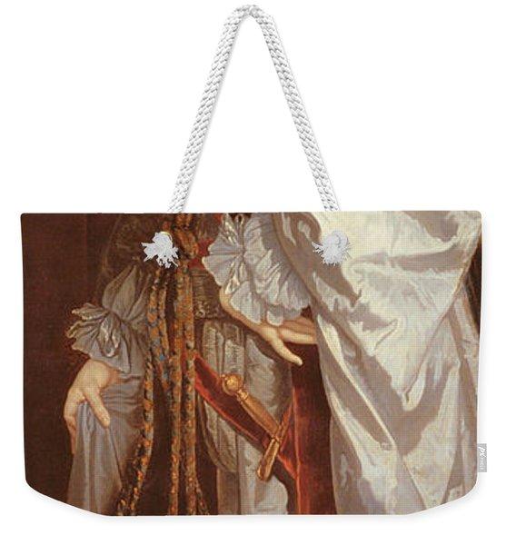 Portrait Of Prince Rupert Weekender Tote Bag