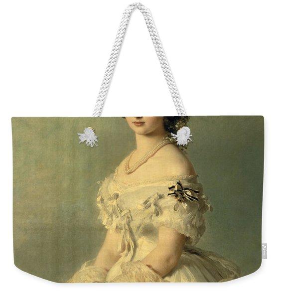 Portrait Of Princess Of Baden Weekender Tote Bag