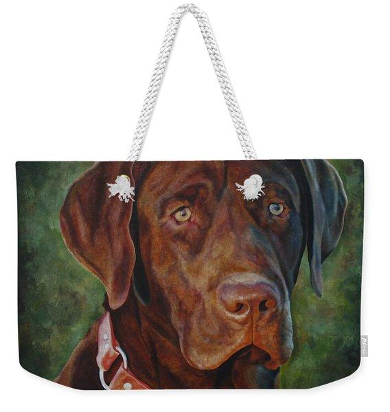 Portrait Of Remington 0094_2 Weekender Tote Bag