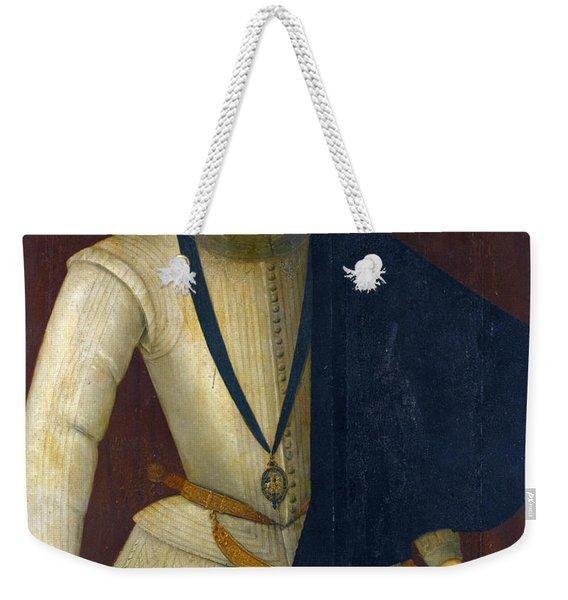 Portrait Of Robert Devereux 2nd Earl Of Essex Weekender Tote Bag
