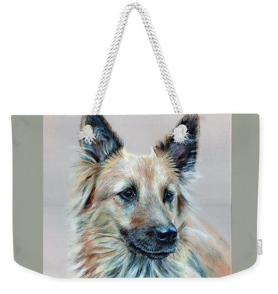 Portrait Of Sasha Weekender Tote Bag