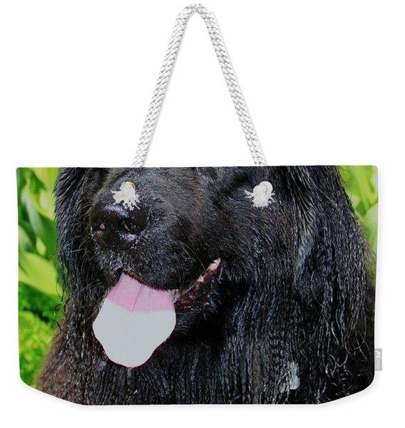 Portrait Of Sierra Weekender Tote Bag