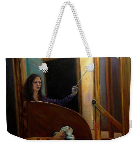 Portrait Of The Artist Weekender Tote Bag