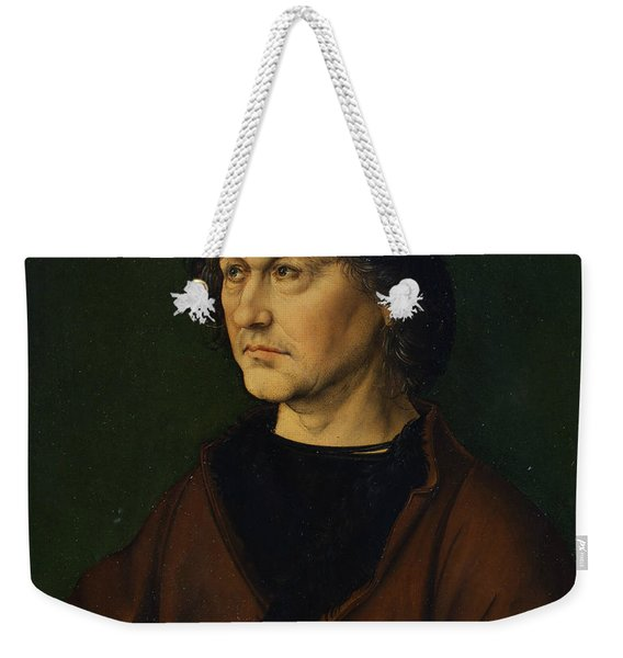 Portrait Of The Artist's Father  Weekender Tote Bag