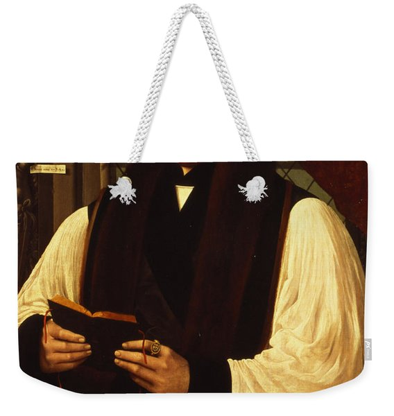Portrait Of Thomas Cranmer Weekender Tote Bag
