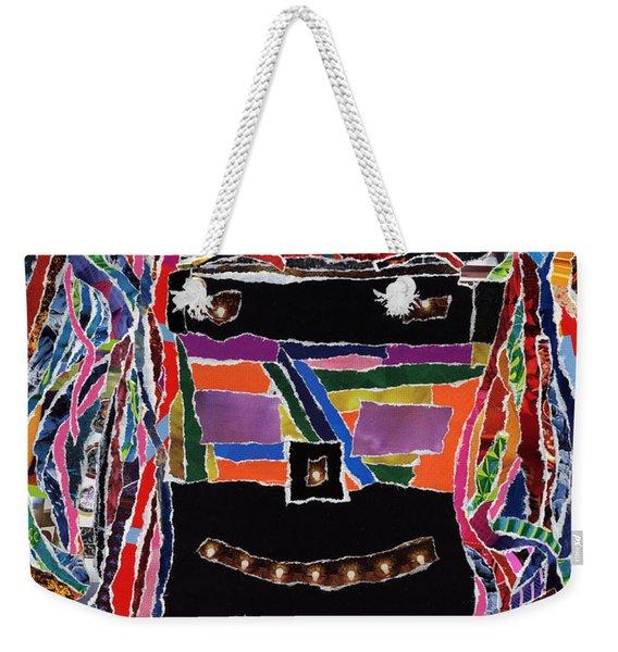 portrait of who   U  Me       or      someone U see  Weekender Tote Bag