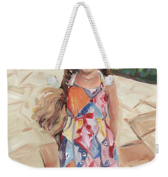 Portrait Painting Weekender Tote Bag