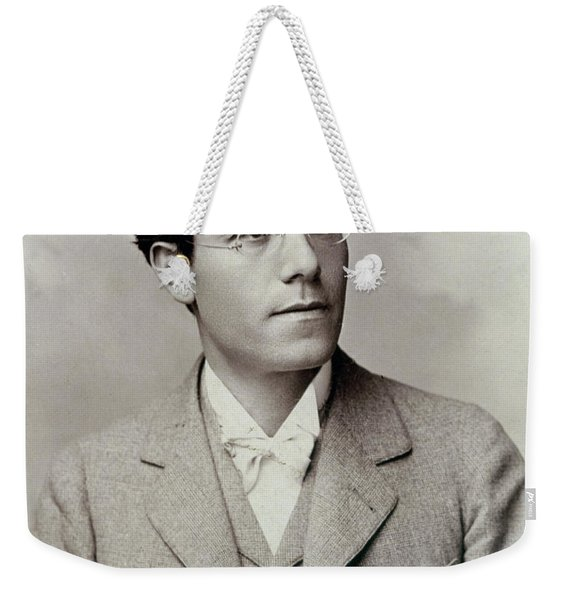 Portrait Photograph Of Gustav Mahler Weekender Tote Bag