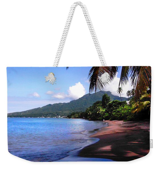 Portsmouth Shore On Dominica Filtered Weekender Tote Bag