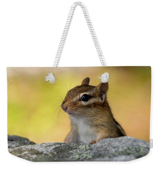 Posing Chipmunk Weekender Tote Bag