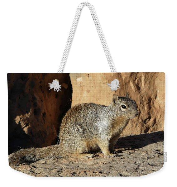 Posing Squirrel Weekender Tote Bag