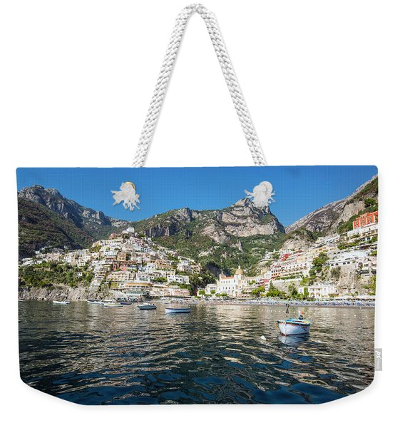 Positano From The Bay Weekender Tote Bag