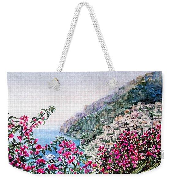 Positano Italy Weekender Tote Bag