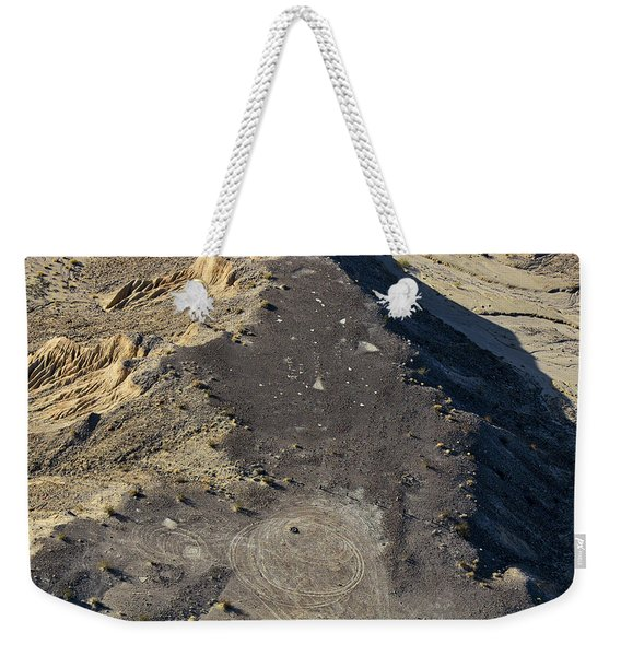 Weekender Tote Bag featuring the photograph Possible Archeological Site by Jim Thompson