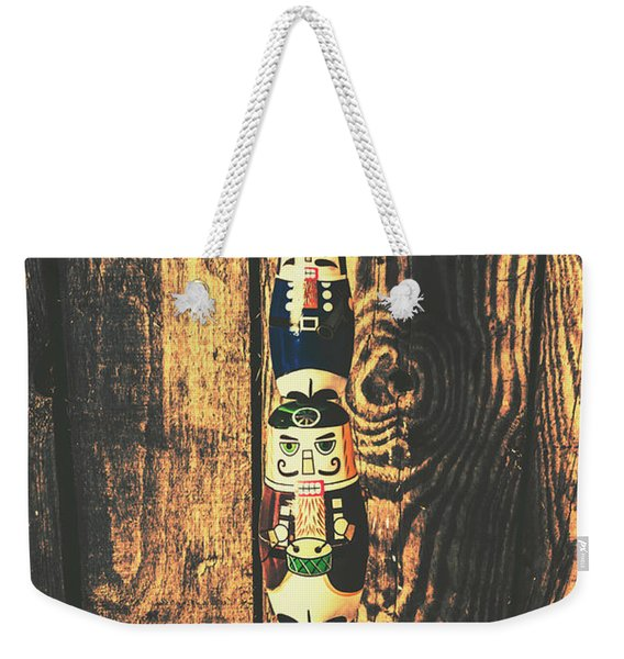 Post Of Commanders Weekender Tote Bag