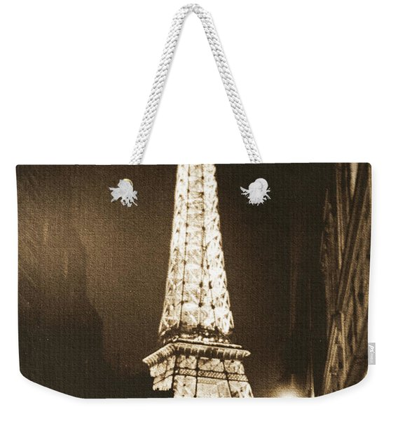 Postcard From Paris- Art By Linda Woods Weekender Tote Bag