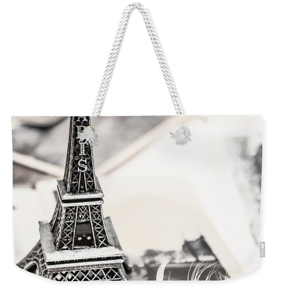 Postcards And Letters From Paris Weekender Tote Bag