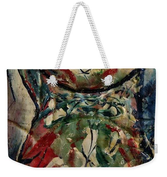 Potpourri Vase With Rose Weekender Tote Bag