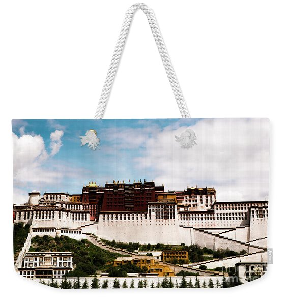 Potala Palace Dalai Lama Home Place. Tibet Kailash Yantra.lv 2016  Weekender Tote Bag
