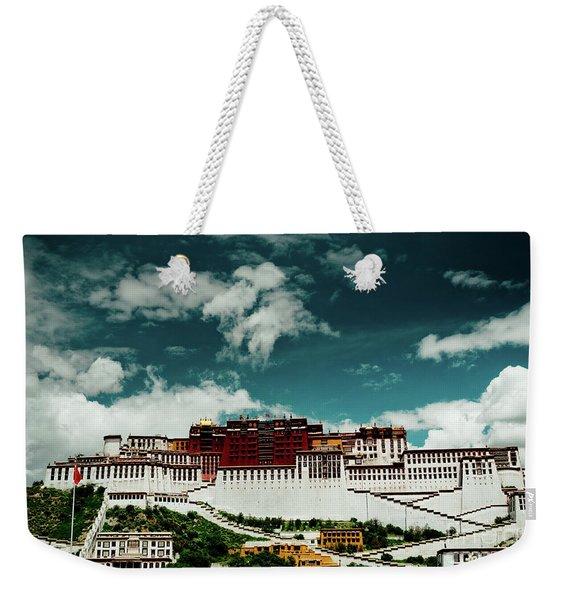 Potala Palace. Lhasa, Tibet. Artmif.lv Weekender Tote Bag