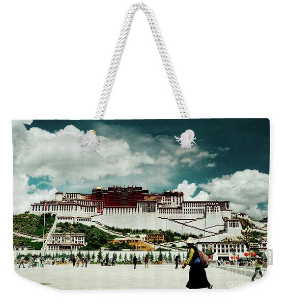 Potala Palace. Lhasa, Tibet. Yantra.lv Weekender Tote Bag