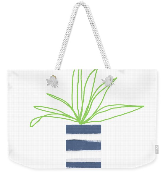 Potted Plant 2- Art By Linda Woods Weekender Tote Bag