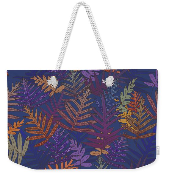 Potter's Clay Ferns Weekender Tote Bag