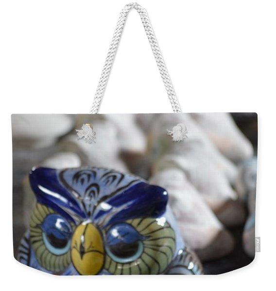 Pottery Bird Weekender Tote Bag