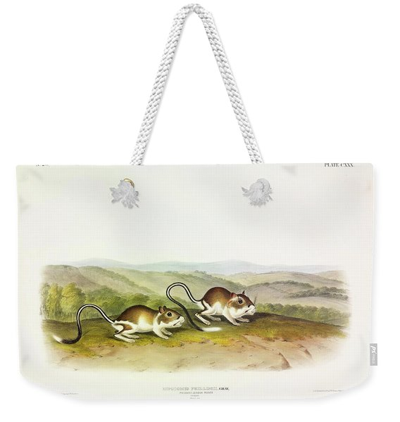 Pouched Jerboa Mouse Weekender Tote Bag