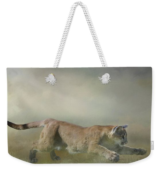 Pouncing Puma Weekender Tote Bag