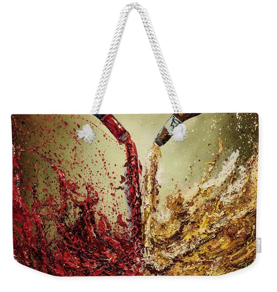 Pouring It Down Weekender Tote Bag