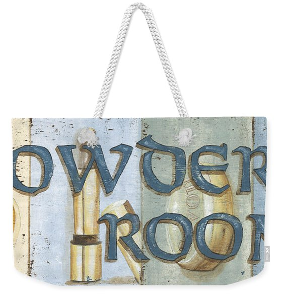 Powder Room Weekender Tote Bag