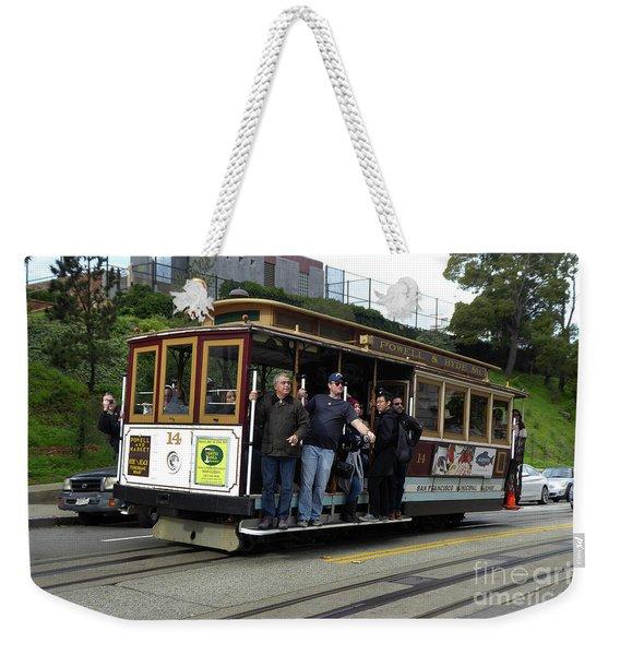 Powell And Market Street Trolley Weekender Tote Bag