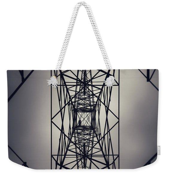 Power Above Weekender Tote Bag