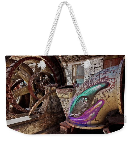 Power Graffiti Weekender Tote Bag
