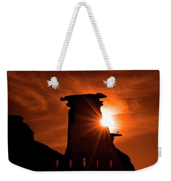 Power Weekender Tote Bag