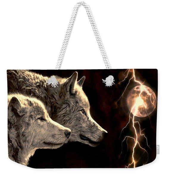 Power Of The Moon Weekender Tote Bag