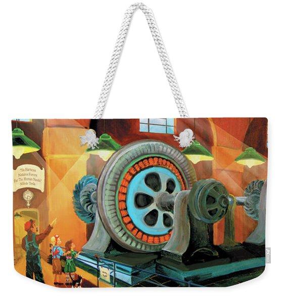 Power Plant Turbines Weekender Tote Bag
