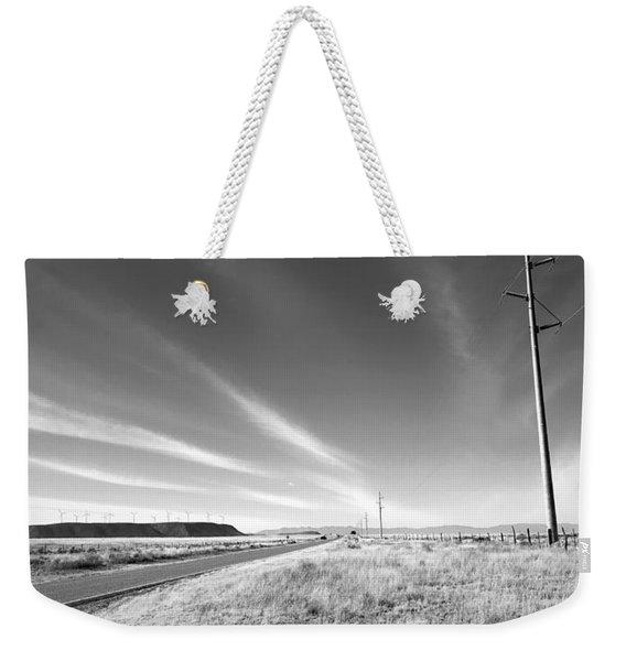 Power Poles To Windmills Weekender Tote Bag