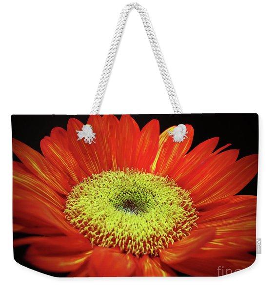 Prado Red Sunflower Weekender Tote Bag