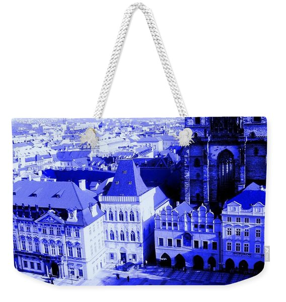Prague Cz Weekender Tote Bag