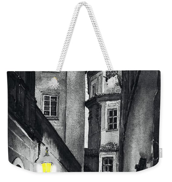 Prague Love Story Weekender Tote Bag