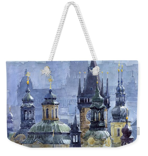 Prague Towers Weekender Tote Bag