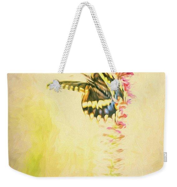 Prairie Butterfly 3 Weekender Tote Bag