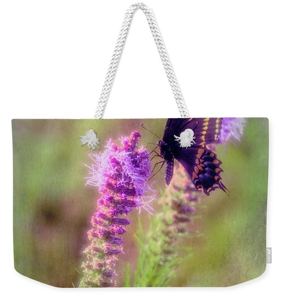 Prairie Butterfly Weekender Tote Bag