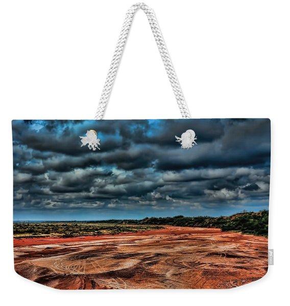 Prairie Dog Town Fork Red River Weekender Tote Bag