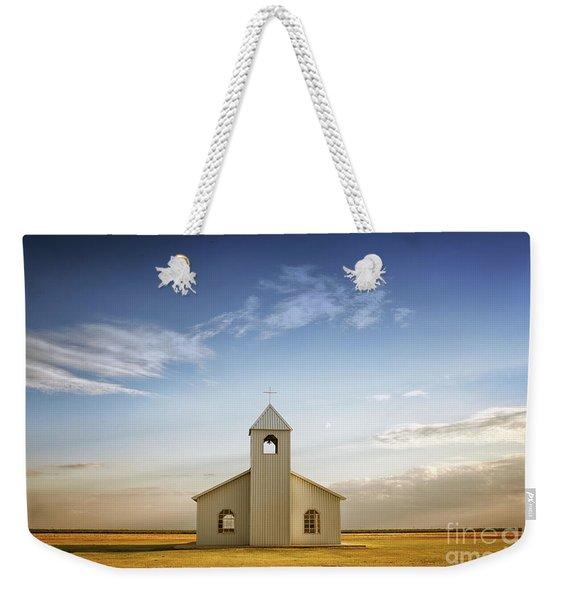 Prairie Faith Weekender Tote Bag